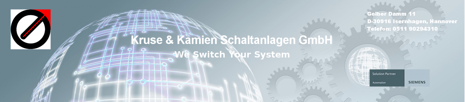 Kruse &  Kamien Schaltanlagen - We Switch Your System