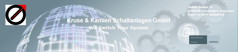 Kruse &  Kamien Schaltanlagen - We Switch Your System